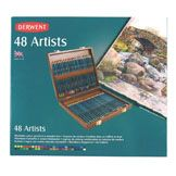 Derwent Artists Colouring Pencils Wooden Box Sets