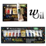 Weber wOil Water-Mixable Oil Colour Sets