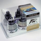 Daler-Rowney FW Ink Shimmering Colours Set of 6