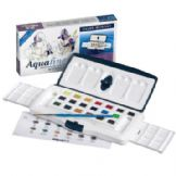 Daler-Rowney Aquafine 20 x Half Pan Slider Set