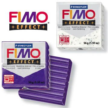 Fimo Soft Modelling Material Effects Colours