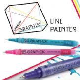 Derwent Graphik Line Painter Single Colours