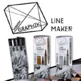 Derwent Graphik Line Maker Sets