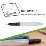 Derwent Graphik H20 Waterbrush