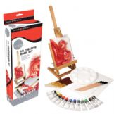Simply Creative Easel Set- Oil