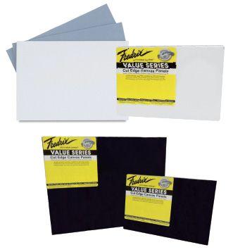 0ab497f7c24 Fredrix Cut Edge Canvas Panels - Value Series