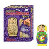 Paint Your Own Russian Babushka Doll Kit