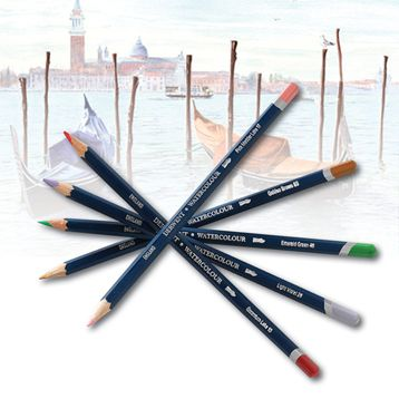 derwent watercolour pencils how to use