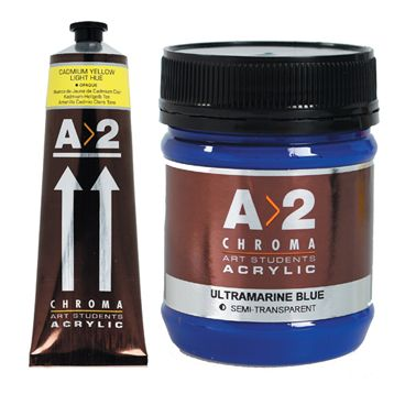 A2 chroma acrylic paint for Chroma mural paint