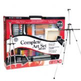 The Complete Art Set with Easel from Daler Rowney
