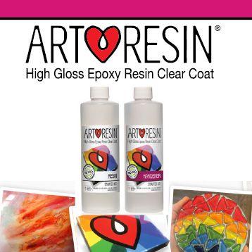 Art Resin - 2 part resin  Artresin  High Gloss Clear Epoxy