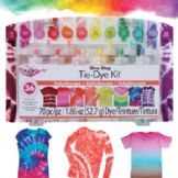 Tulip One Step Tie-Die 12 Colour Kits